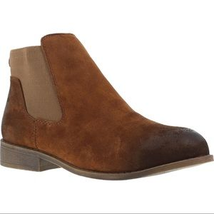 Rockport works suede steel toe ankle boot